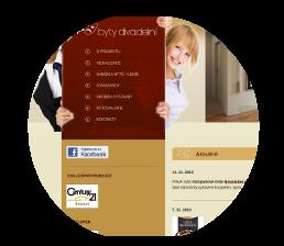 webdesign, logo Byty Divadelni